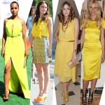 Trend alert: lemon yellow