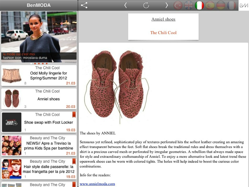 alessia milanese,thechilicool,fashion blog,fashion blogger, thechilicool on iPhone and iPad with benmoda