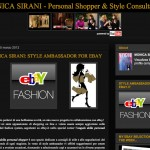 Monica Sirani Style Ambassador for Ebay.it