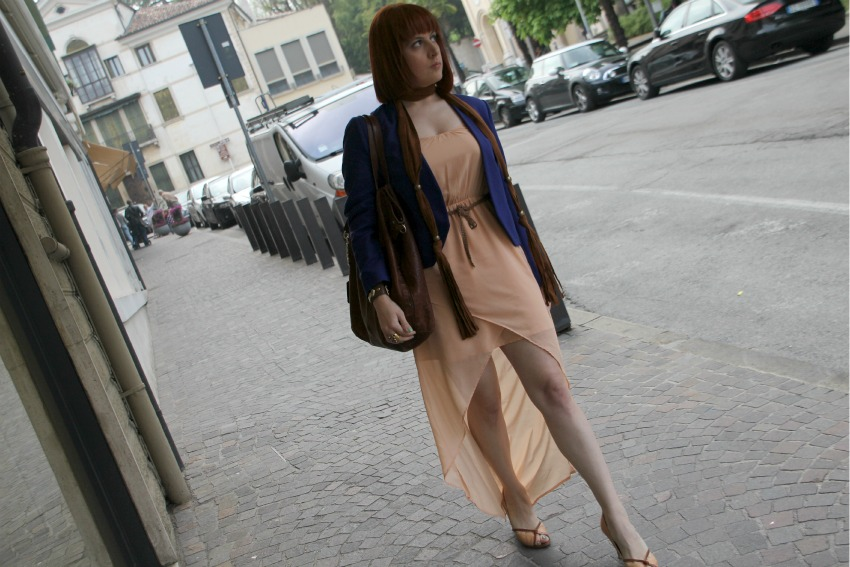 alessia milanese,thechilicool,fashion blog,fashion blogger, blue + salmon pink