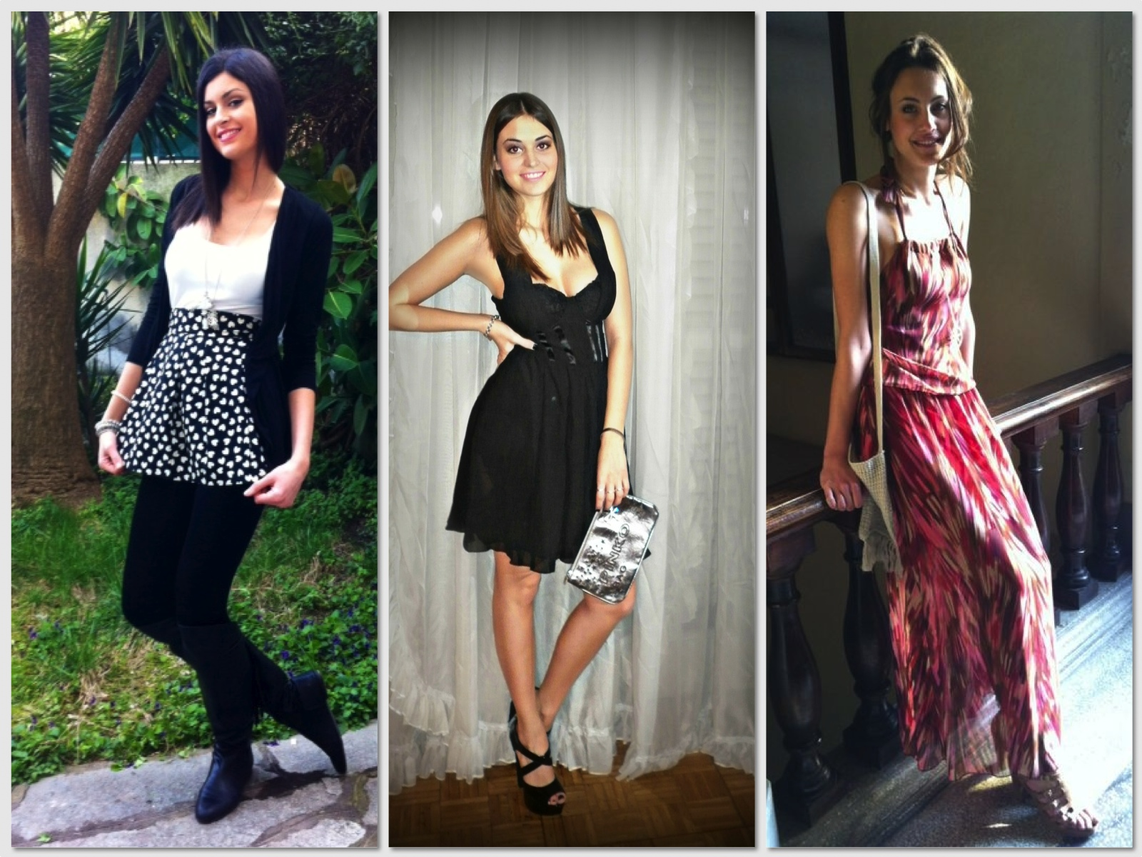 miss italia outfits1 Miss Italia: choose the best outfit!