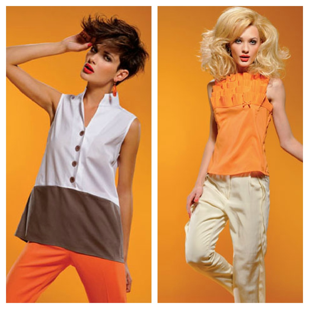 alessia milanese,thechilicool,fashion blog,fashion blogger, nara camicie ss 2012 collection, tangerine tango