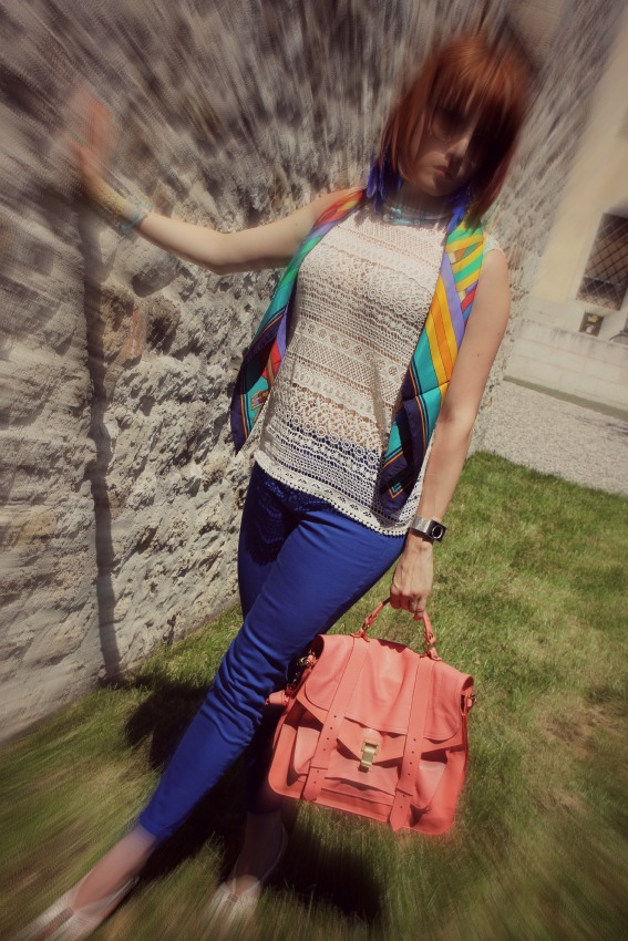 OUTFIT ELECTRIC BLUE TooBe jewels by Boccadamo