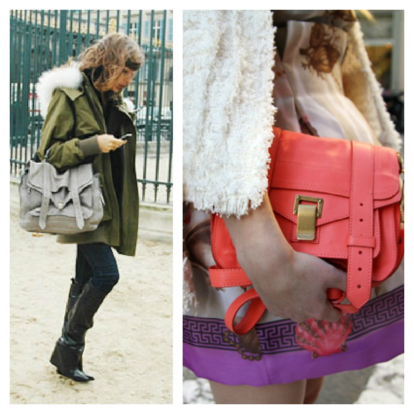 PicMonkey Collage It bags: PS1 by Proenza Schouler