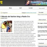 Press Update: my interview on Radio Crc Targato Italia