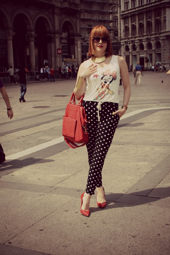 JUMPSUIT POLKA DOT Best of: June outfits
