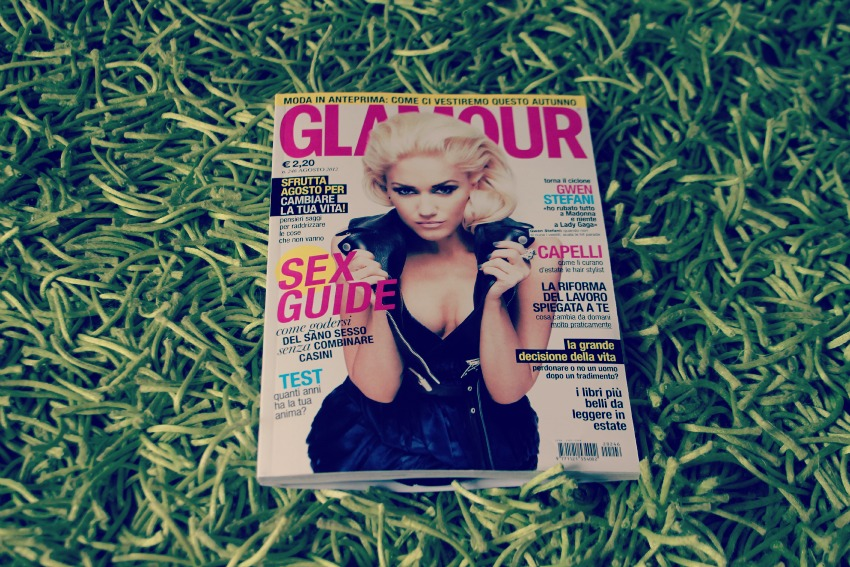 GLAMOUR AGOSTO COVER Press update: me on Glamour magazine!