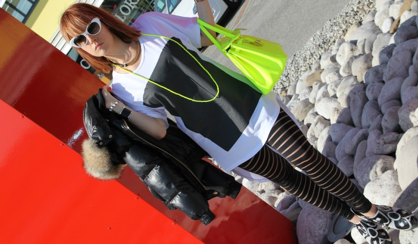 alessia milanese,thechilicool,fashion blog,fashion blogger, ice iceberg metropolitan mood, pollipò sunglasses, numero 00 tee