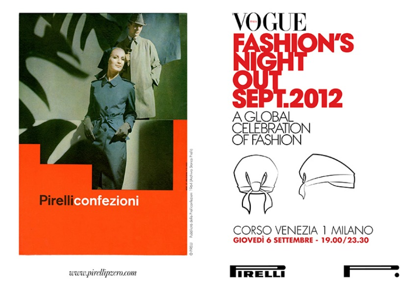 PZERO VOGUE NIGHT Vogue Fashions Night Out in Milan   recap