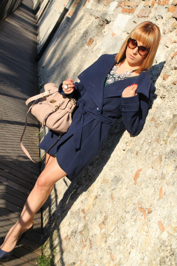 alessia milanese,thechilicool,fashion blog,fashion blogger, rinascimento dress and coat, alexa mulberry