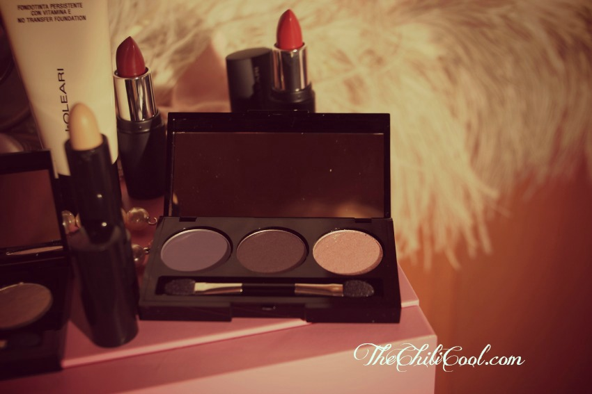 alessia milanese,thechilicool,fashion blog,fashion blogger,naj oleari make up la vie en rouge collection, tutorial
