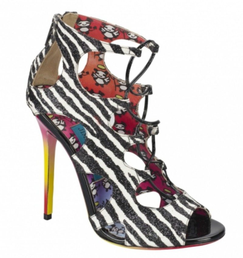 alessia milanese,thechilicool,fashion blog,fashion blogger,jo ratcliffe's animation: rob pruitt's collection for jimmy choo
