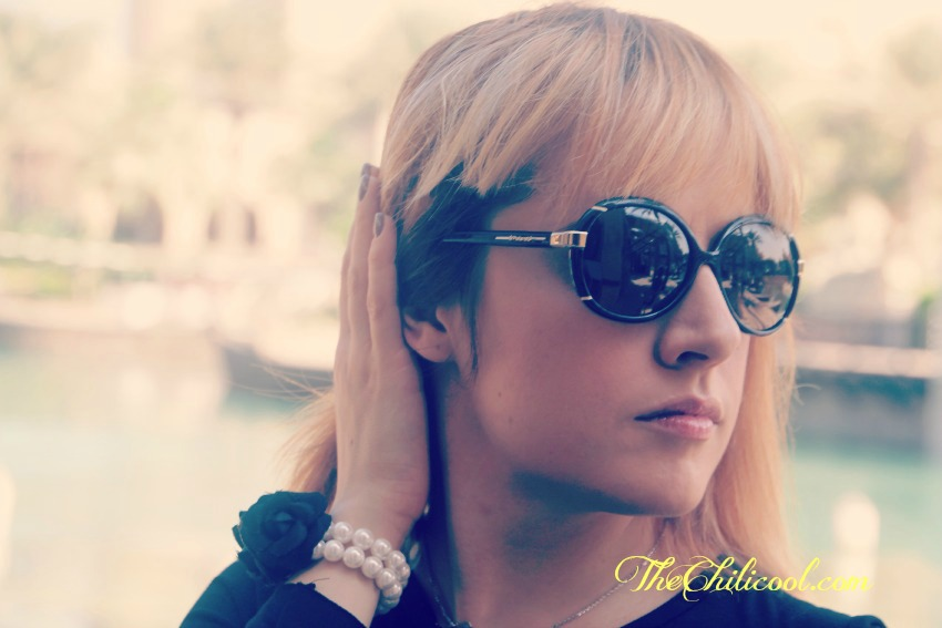 alessia milanese,thechilicool,fashion blog,fashion blogger,polaroid sunglasses on sunglassesshop protect your eyes with glamour