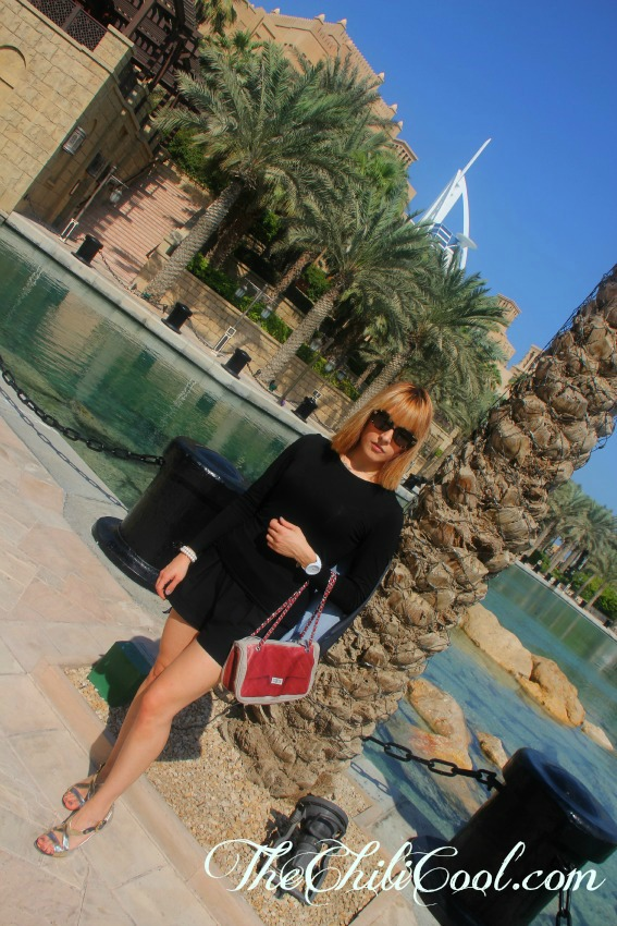alessia milanese,thechilicool,fashion blog,fashion bloggerdubai day 2 madinat jumeirah, pomikaki bag, giuseppe zanotti design shoes