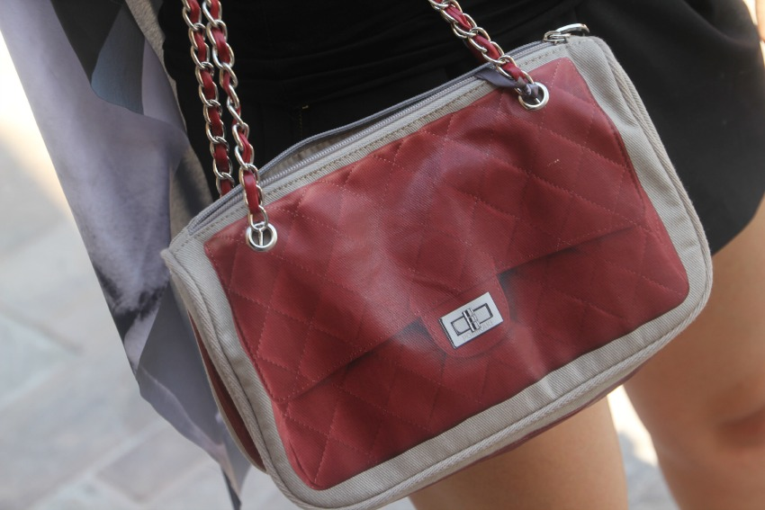 alessia milanese,thechilicool,fashion blog,fashion blogger, new in pomikaki red bag