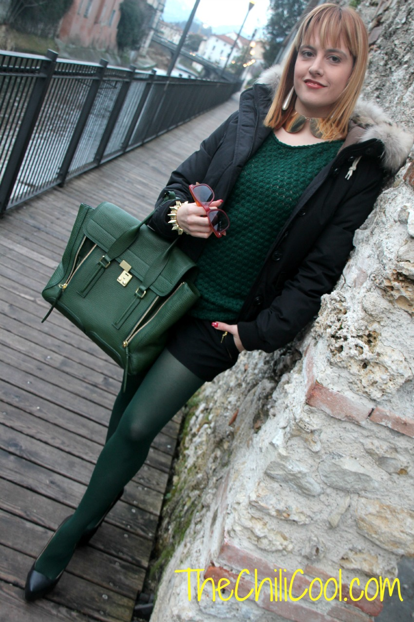 alessia milanese, thechilicool, fashion blog, fashion blogger,soffici sfumature di verde, 3.1 pashli phillip lim