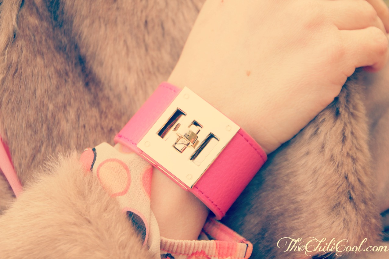 BRACCIALE ROSA Un abitino pop, killer heels e.... ( + Esaldi.it giveaway winner )
