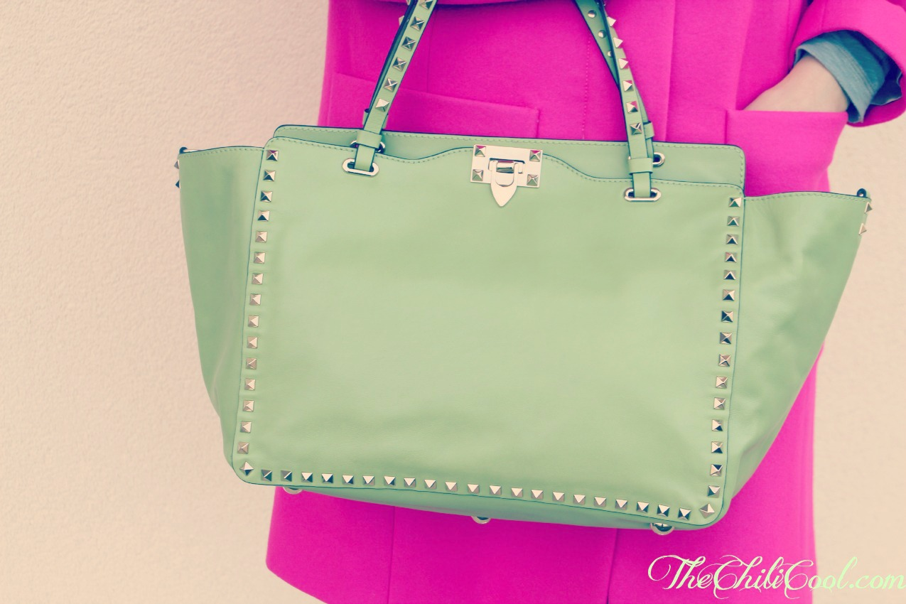 alessia milanese, thechilicool, fashion blog, fashion blogger,new in benvenuta VALENTINO ROCKSTUD BAG
