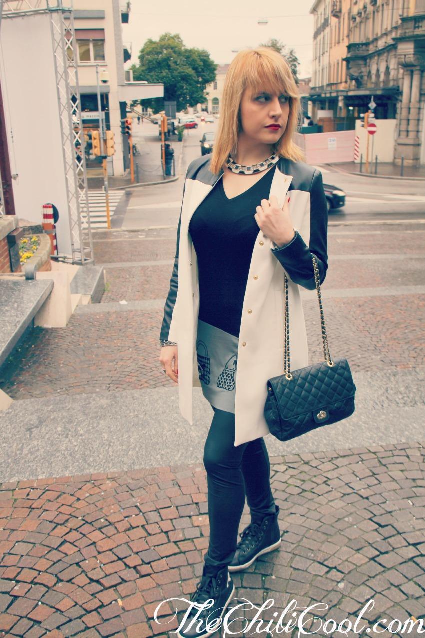 alessia milanese, thechilicool, fashion blog, fashion blogger,b&w in una giornata che preannuncia pioggia, ean 13