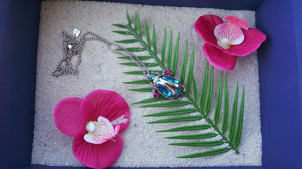 alessia milanese, thechilicool, fashion blogger,giveaway un gioiello swarovski tropical paradise in palio per voi