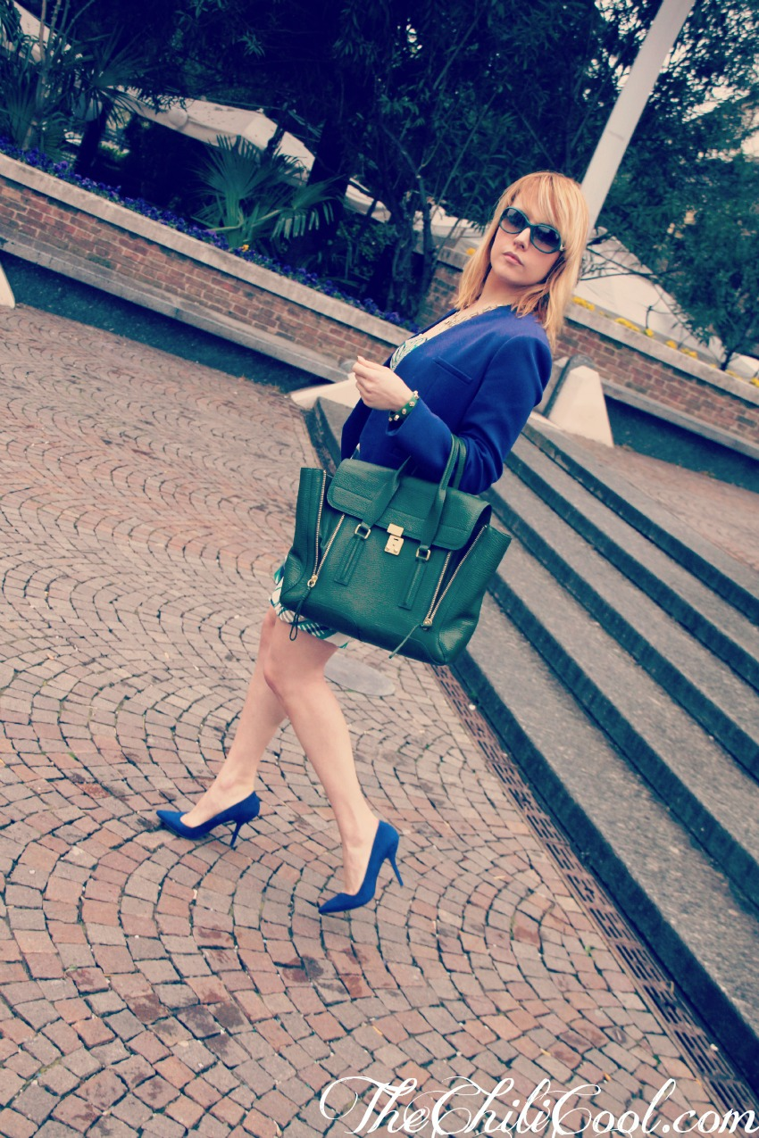 alessia milanese, thechilicool, fashion blog, fashion blogger,ladylike con un abito verysimple, pashli bag 3.1 phillip lim