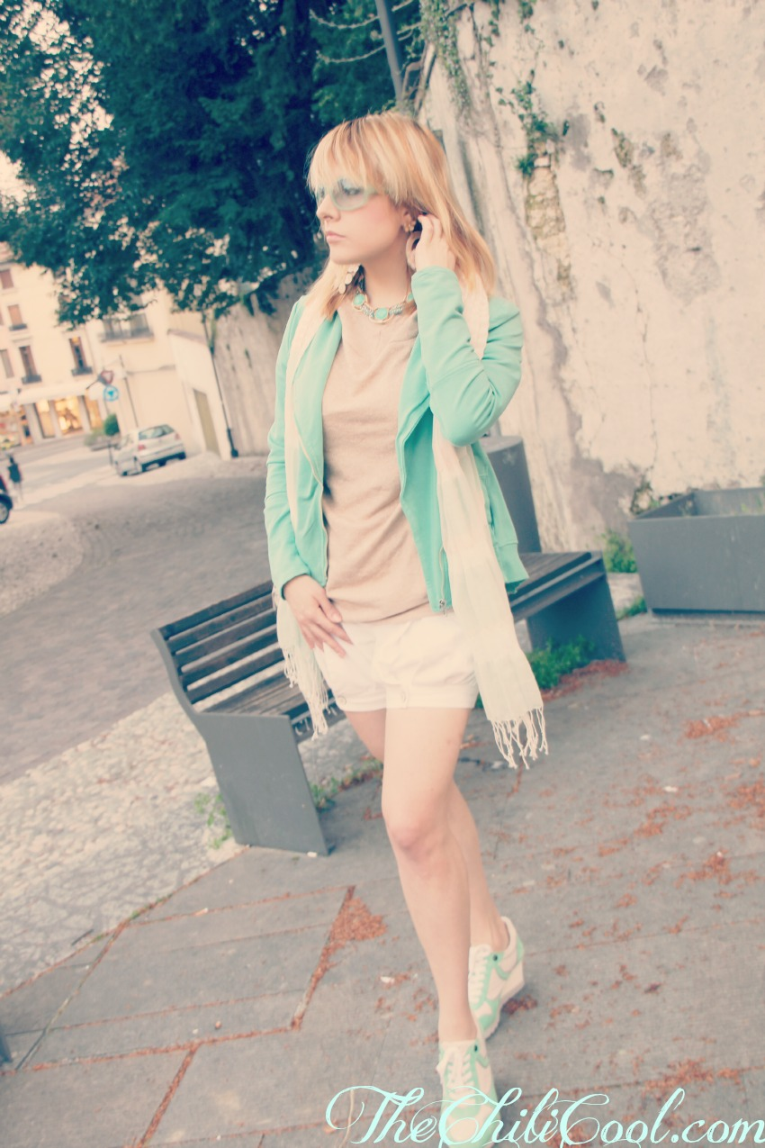 alessia milanese, thechilicool, fashion blog, fashion blogger,primavera che richiama i colori del mare