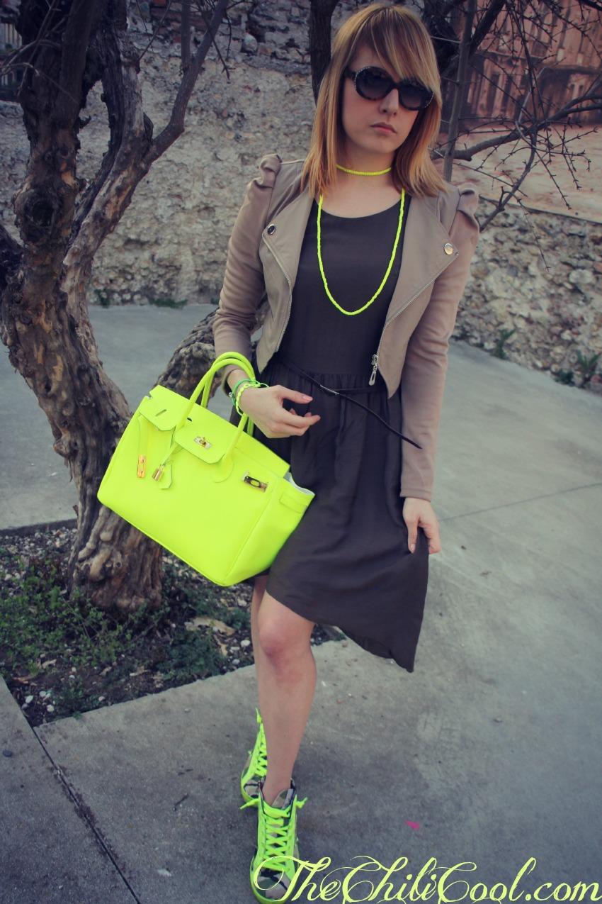 alessia milanese, thechilicool, fashion blog, fashion blogger,le calde tonalità della terra con un pizzico di giallo fluo