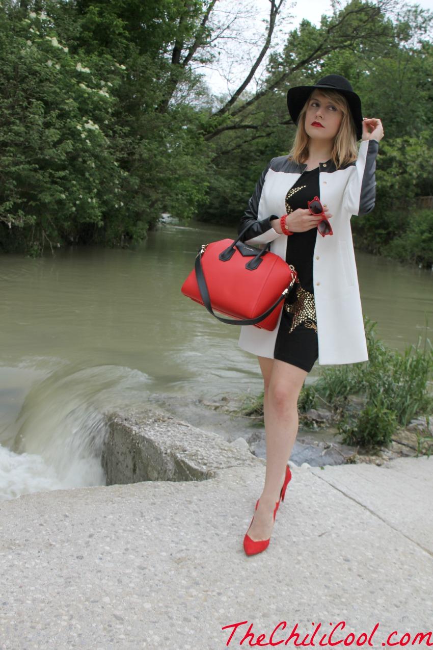 alessia milanese, thechilicool, fashion blog, fashion blogger,polvere di stelle su tela nera con qualche tocco di rosso qua e là, antigona bag givenchy