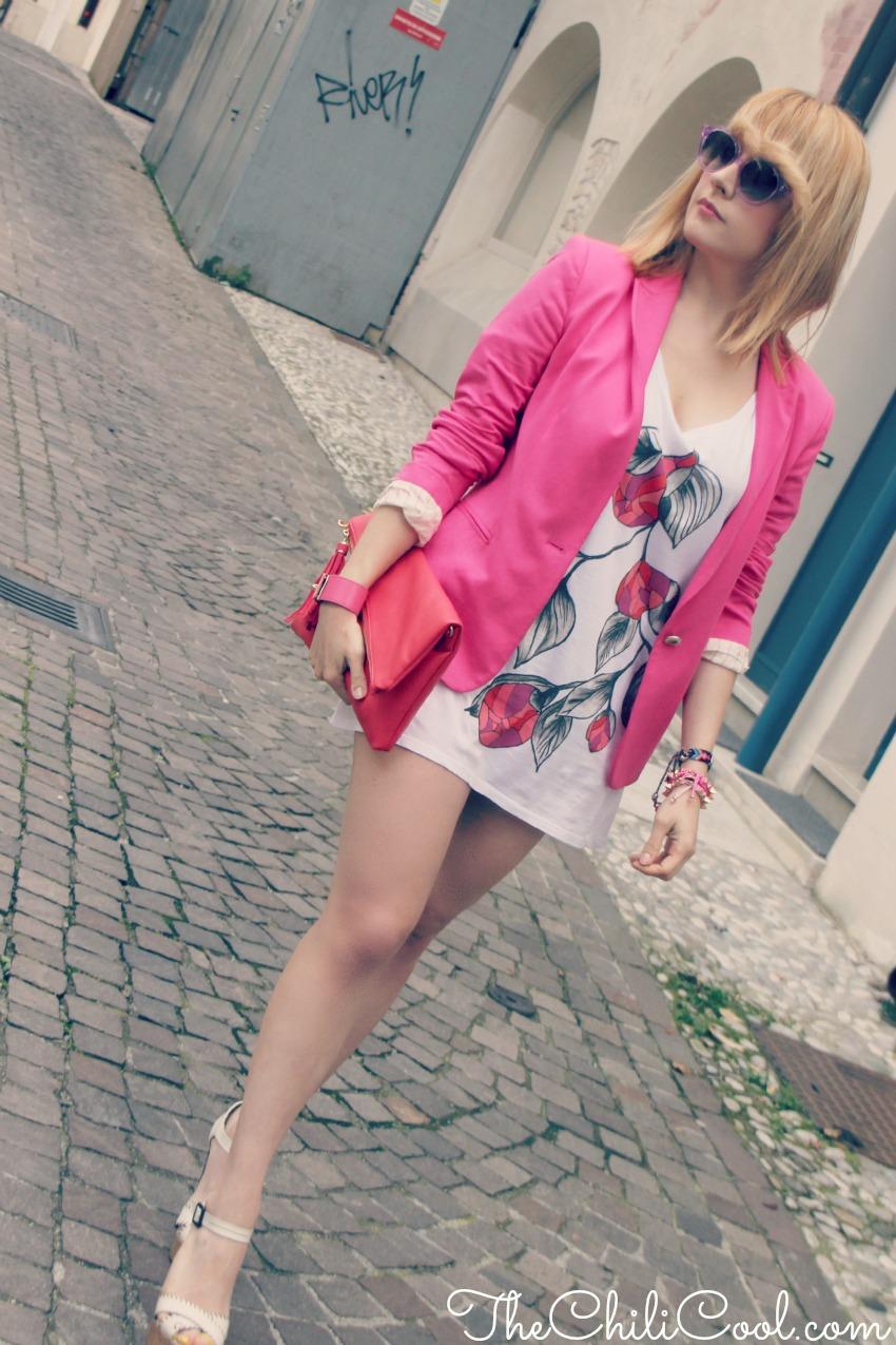 alessia milanese, thechilicool, fashion blog, fashion blogger,esplosione floreale su tela di bianca purezza