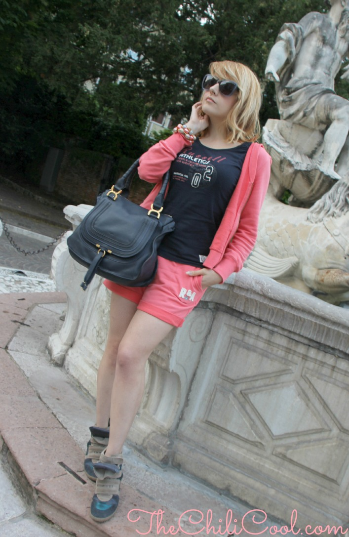 alessia milanese, thechilicool, fashion blog, fashion blogger,un look sporty ingentilito da dettagli preziosi, marcie bag chloe