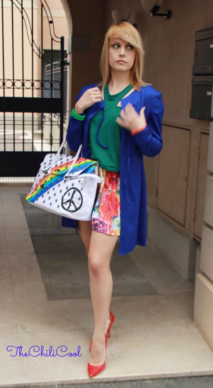 alessia milanese, thechilicool, fashion blog, fashion blogger,il colore è la chiave di tutto