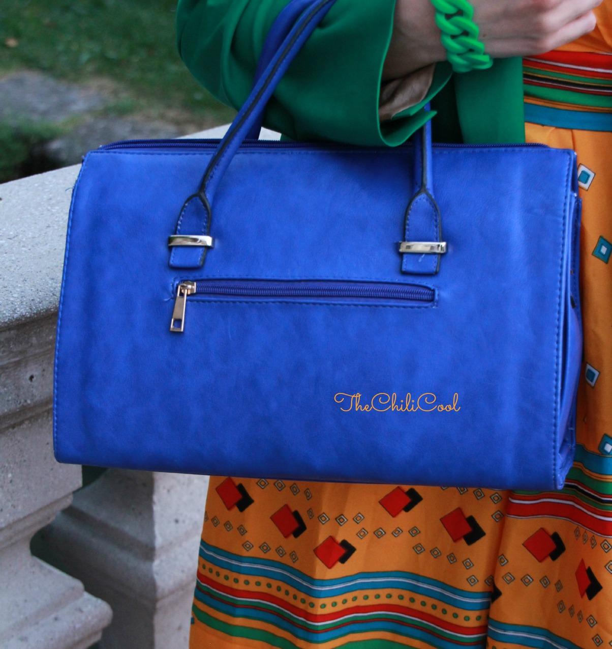 alessia milanese, thechilicool,fashion blog, fashion blogger,Un viaggio indietro nel tempo con un abito vintage e colori saturi, vintage
