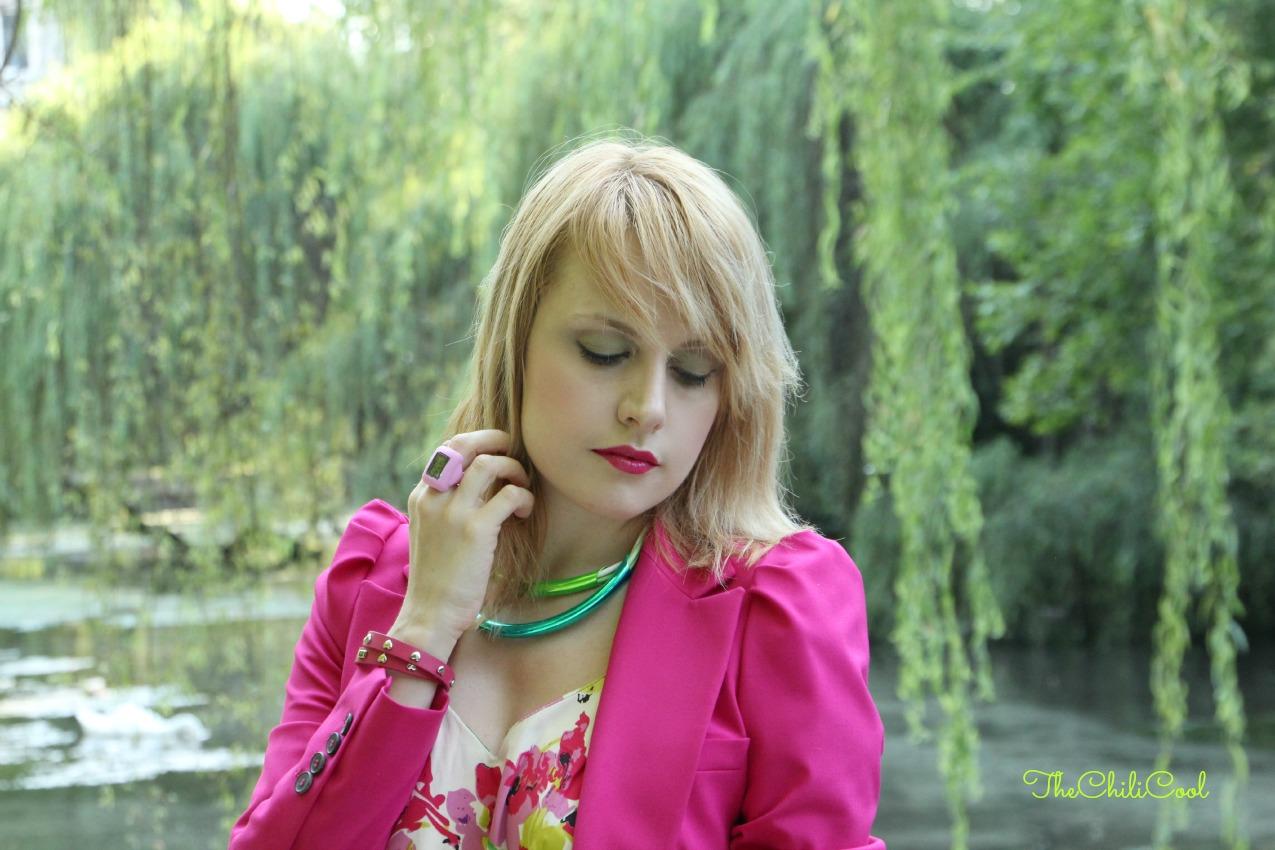 alessia milanese, thechilicool, fashion blog, fashion blogger,romantica esplosione floreale e cenni di fucsia