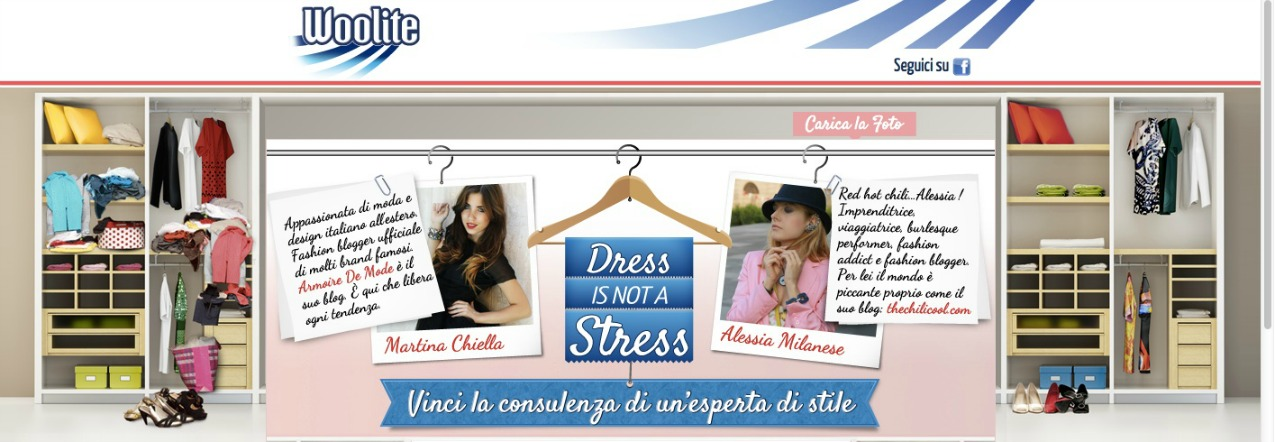 alessia milanese, thechilicool, fashion blog, fashion blogger,woolite contest dress is not a stress, armoire des modes