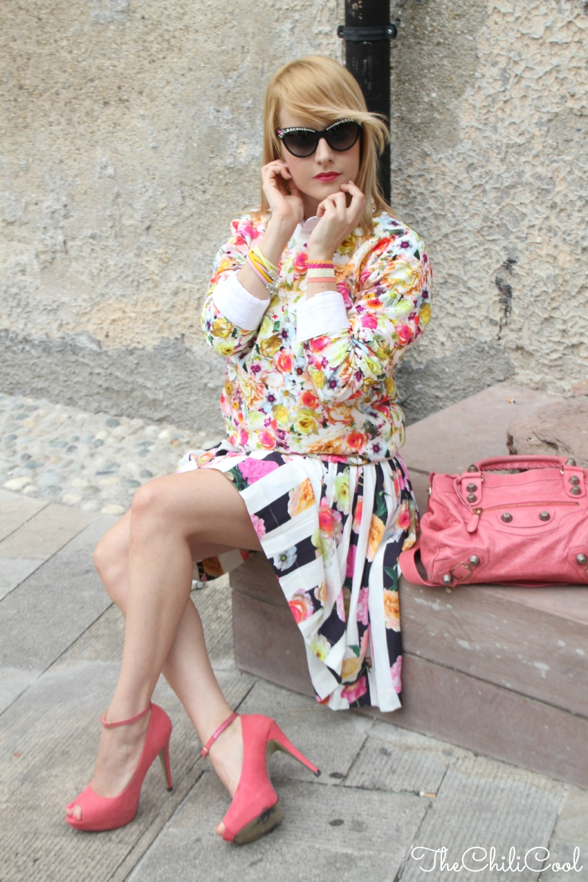 alessia milanese, thechilicool, fashion blog, fashion blogger, balenciaga bag, msgm gonna