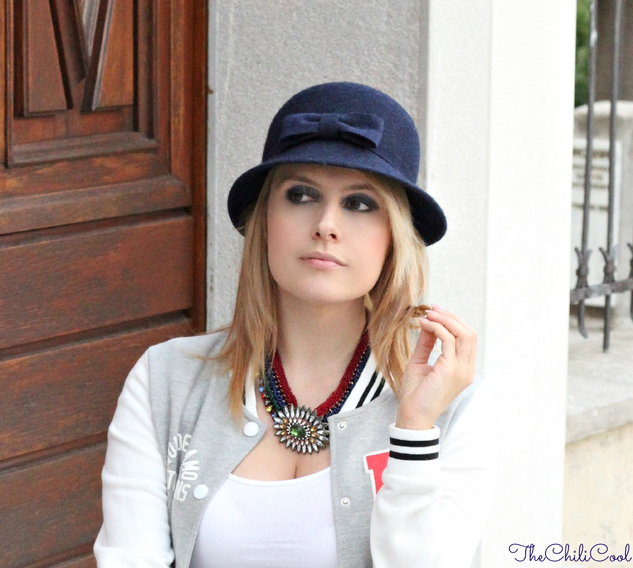 alessia milanese, thechilicool, fashion blog, fashion blogger, deep blue