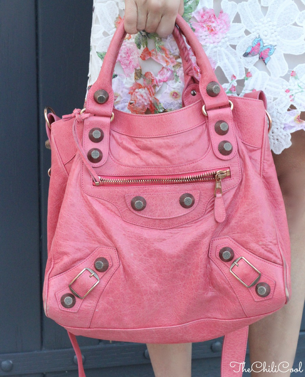 alessia milanese, thechilicool, fashion blog, fashion blogger, balenciaga bag