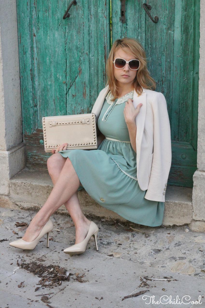 Principesse moderne in bilico tra tacchi a spillo e occhiali color cipria, alessia milanese, thechilicool, fashion blog, fashion blogger