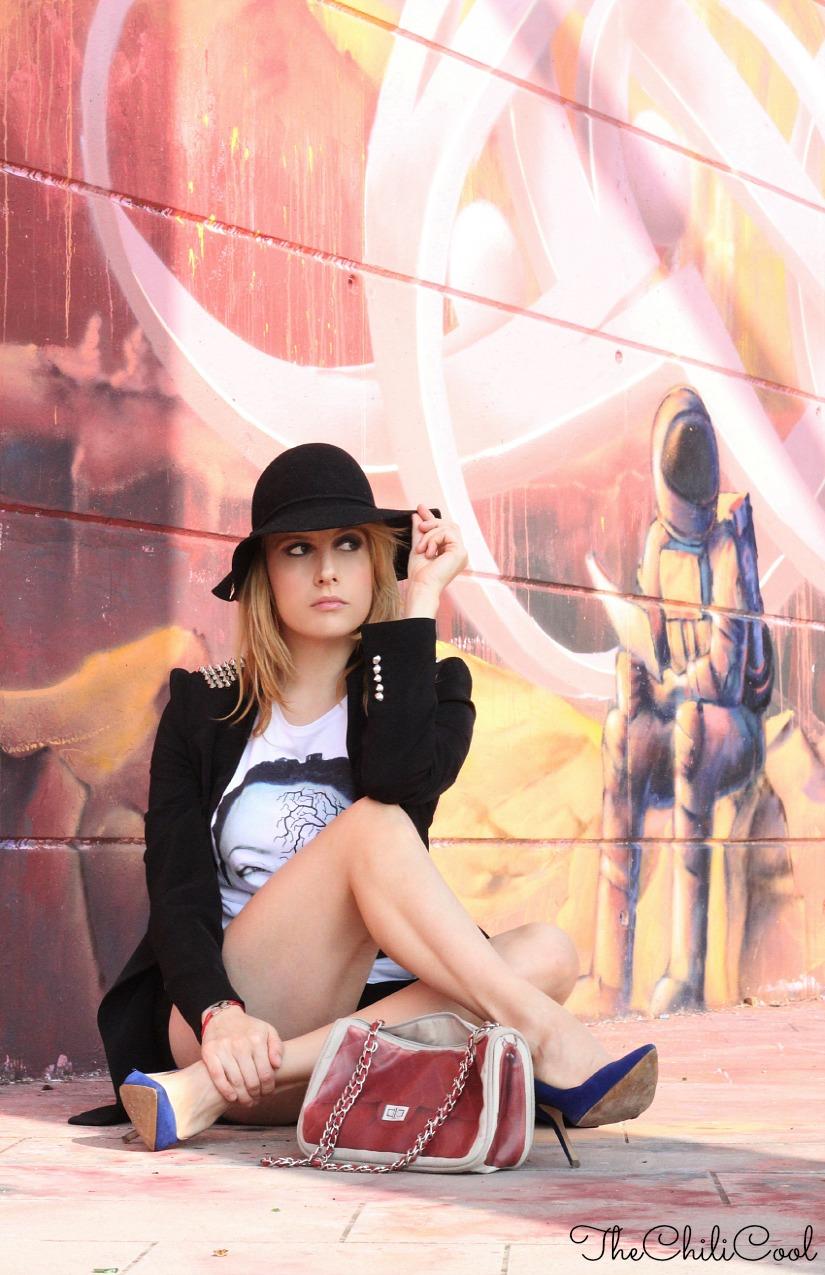 alessia milanese, thechilicool, fashion blog, fashion blogger,graffiti metropolitani, ed un inaspettato raggio di sole