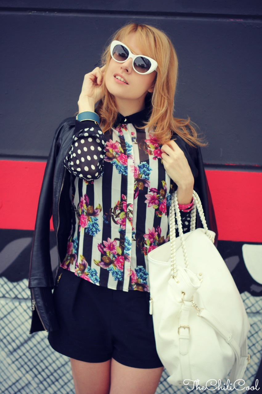 alessia milanese, thechilicool, fashion blog, fashion blogger, stripes&polka dots