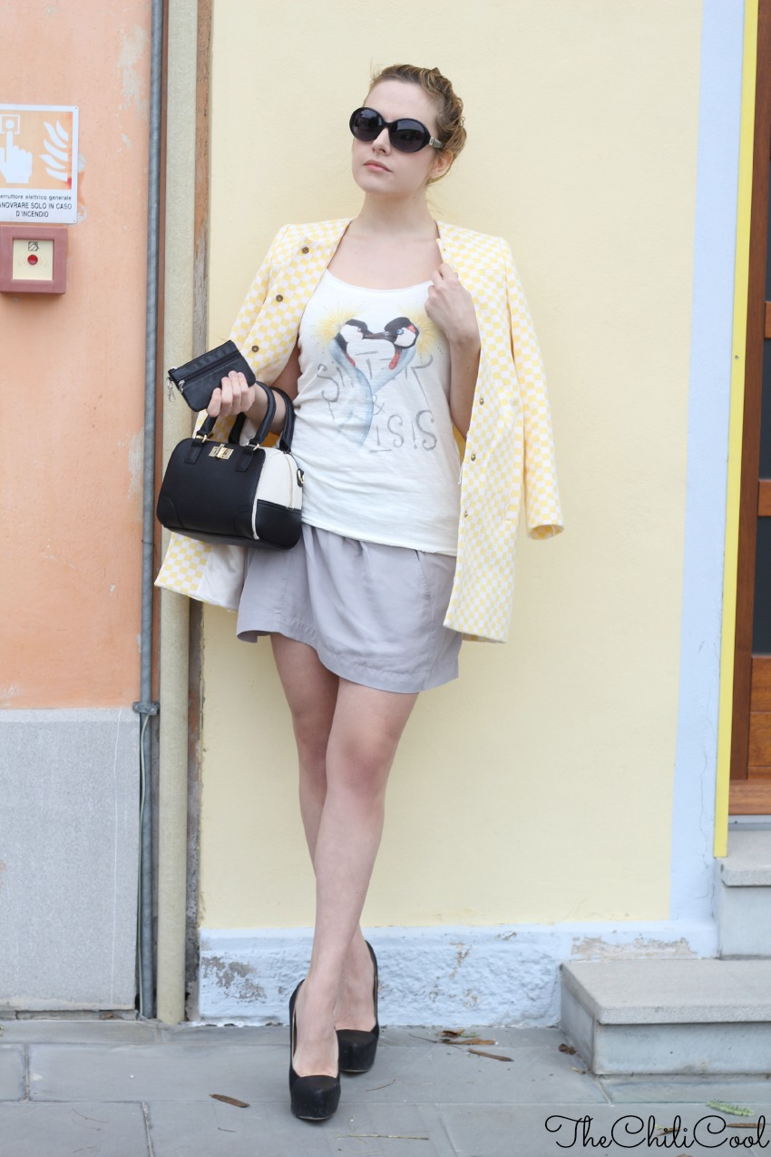 alessia milanese, thechilicool, fashion blog, fashion blogger, yellow poewer, aldo shoes