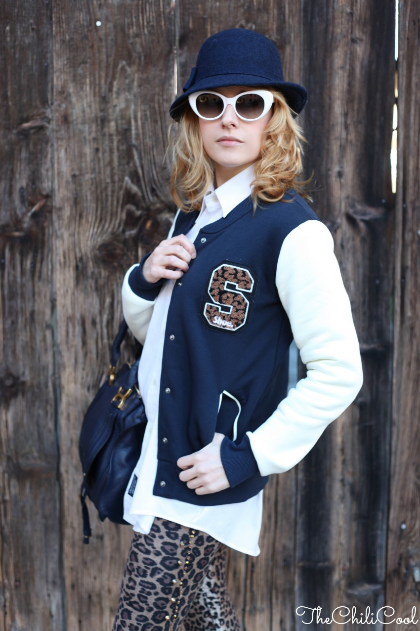 alessia milanese, thechilicool, fashion blog, fashion blogger, varsity jacket, marcie bag chloe