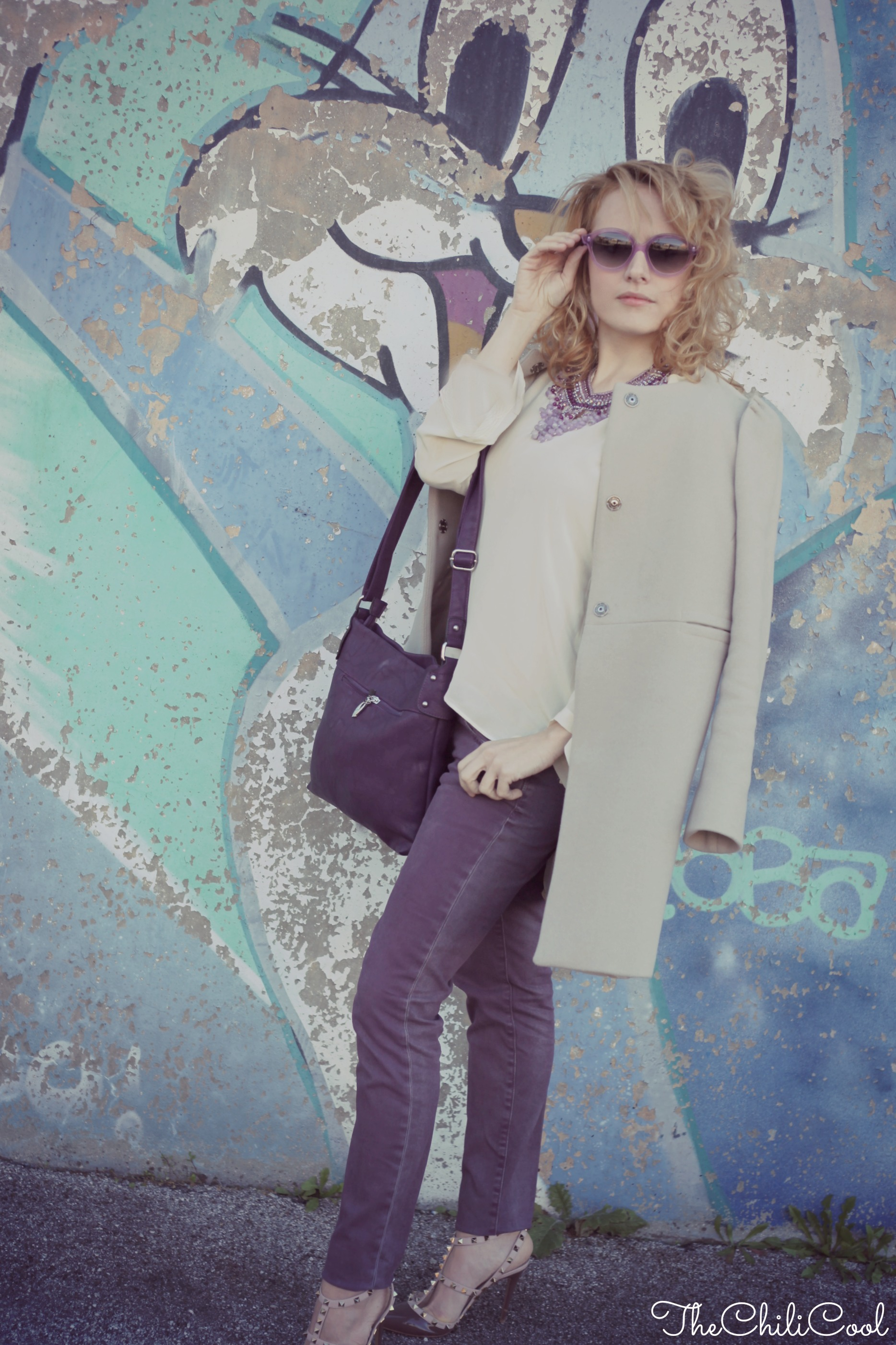 alessia milanese, thechilicool, fashion blog, fashion blogger,#2w2m #urbancharm graffiti metropolitani ad udine , valentino shoes