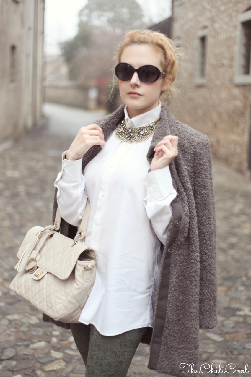 alessia milanese, thechilicool, fashion blog, fashion blogger,Outfit a due giorni da Natale, tra il cappotto e la nebbia