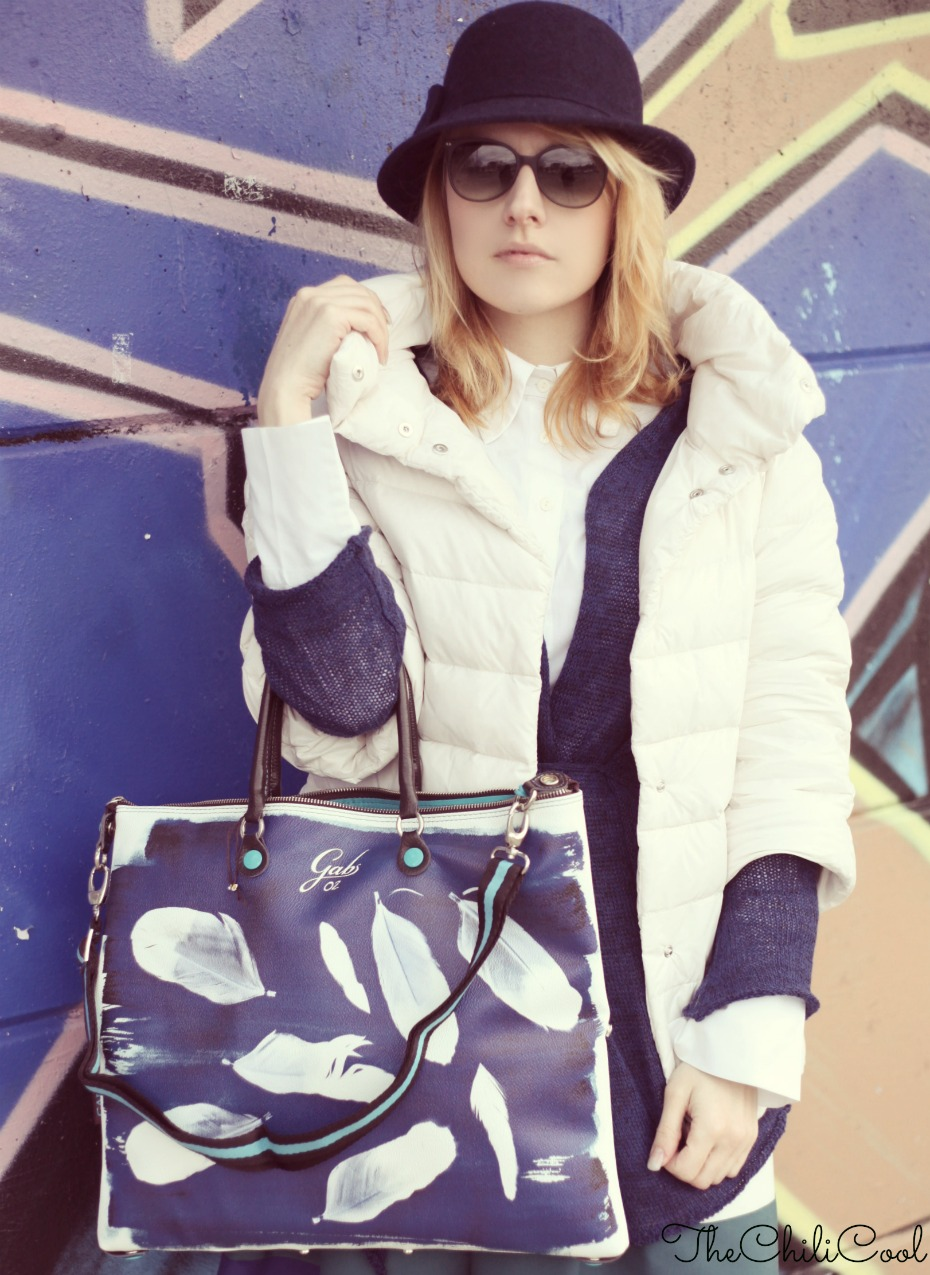 alessia milanese, thechilicool, fashion blog, fashion blogger,white and blue