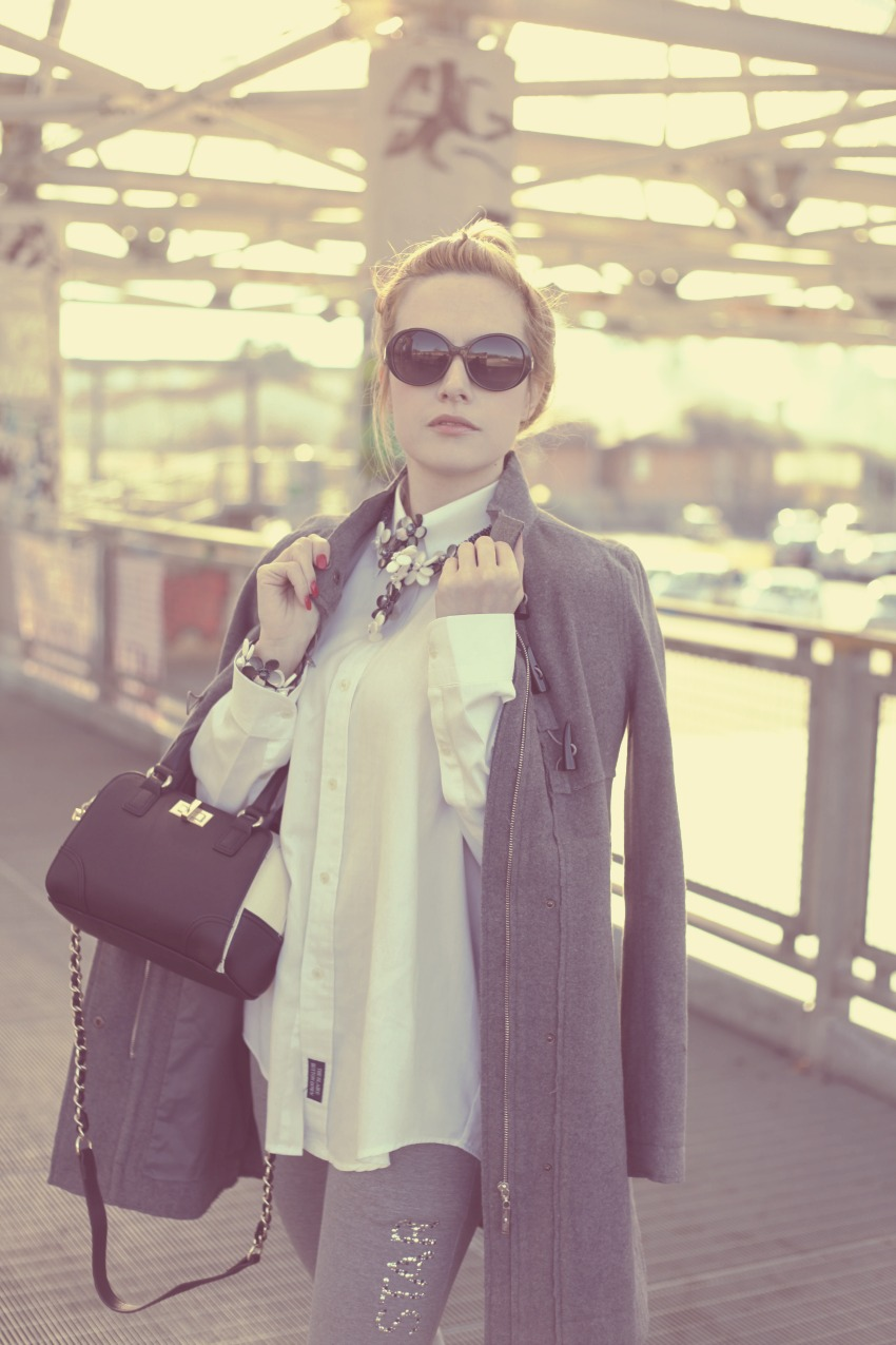 alessia milanese, thechilicool, fashion blog, fashion blogger,it's all about grey, aldo bag