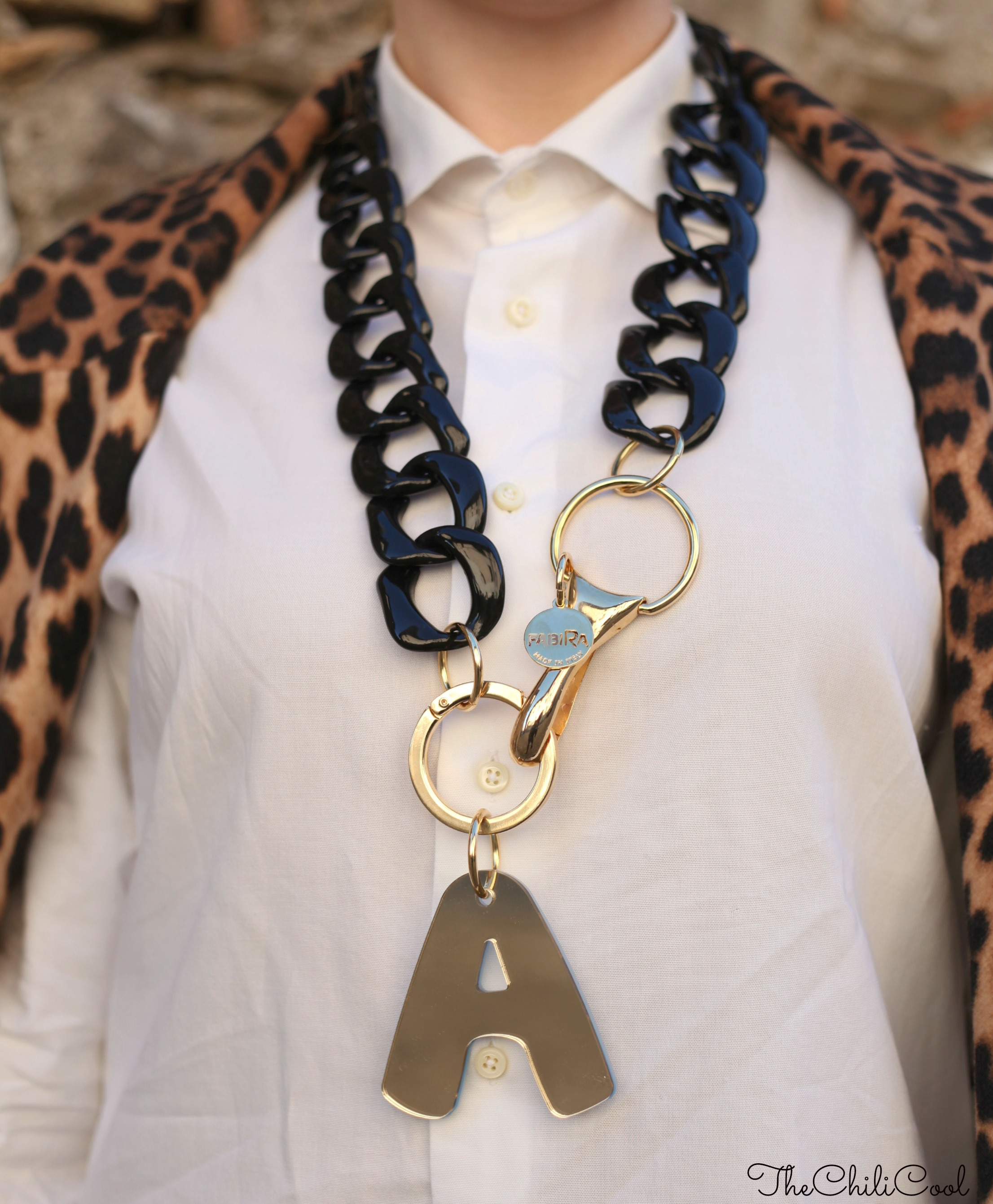 alessia milanese, thechilicool, fashion blog, fashion blogger, animalier e nero, chanel 2.55