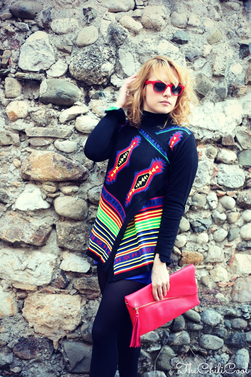alessia milanese, thechilicool, fashion blog, fashion blogger, aztec prints , carvela shoes