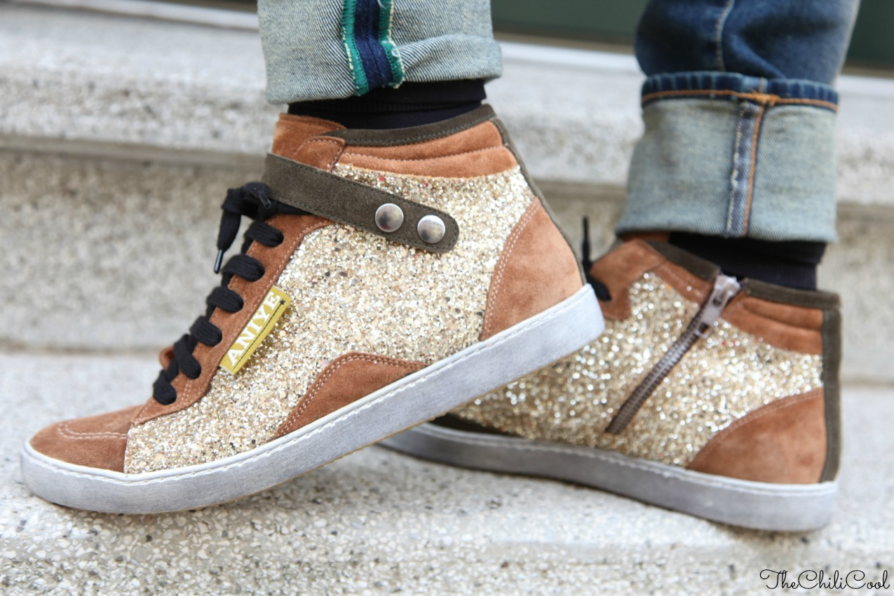Sneakers. E pioggia di glitter, alessia milanese, thechilicool, fashion blog, fashion blogger, balenciaga bag