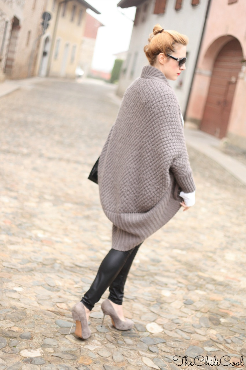 alessia milanese, thechilicool, fashion blog, fashion blogger,cardigan in lana per un tranquillo venerdì di gennaio